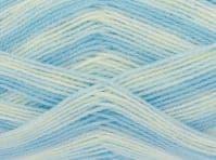 King Cole BABY PRINT 4PLY Wool / Yarn 100g - 2571 LAGOON